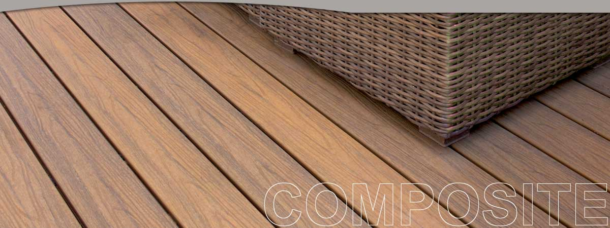 Composite Decking products by Holbrook Lumber Company