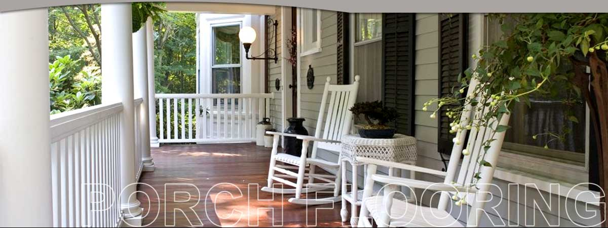 Porch Flooring by Holbrook Lumber Company - Leading Decking company For Over 100 Years!