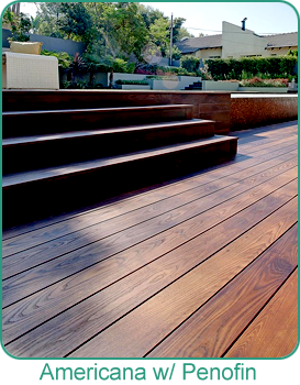 Holbrook Lumber Decking by Americana with Penofin UV Protectant