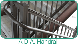 Holbrook Lumber Specialty Products - A.D.A. Handrail