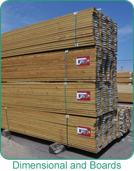 Holbrook Lumber dimensional lumber and boards