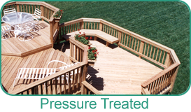 Holbrook Lumber Products - Pressure Treated Decking